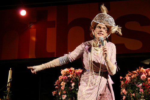 Old Age Pensioner and Hip Hop Rapper Ida Barr